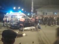 Patru raniti grav si un mort, dupa doua accidente rutiere in Arad si Brasov