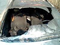 I-au ars masina fiindca s-a pus cu cine nu trebuia!