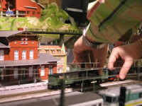 Trenulete, locomotive si trasee feroviare de buzunar!