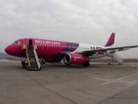 Cursa Wizzair catre Valencia anulata. Mai multe pasari au afectat un motor
