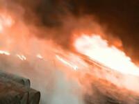 Iubire de mama! A trecut prin foc sa-si salveze baiatul de doi ani!