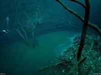 IMAGINI INCREDIBILE! Un rau curge... prin apa! Iluzie optica
