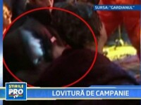 Filmare cu Traian Basescu lovind un copil! VEZI VIDEO!
