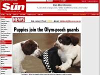 Doi catei, arma secreta a Marii Britanii impotriva terorismului!