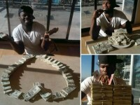 Te intrebai cum arata jumatate de milion de dolari? Iti arata 50 Cent