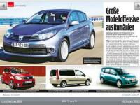 Dacia pregateste 8 noi modele pentru urmatorii 4 ani