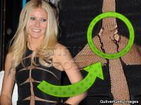 Gwyneth Paltrow, cu rochia rupta pe covorul rosu!