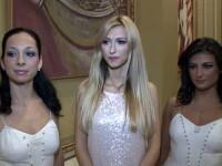 Dansatoarele Andreei Balan, vedetele unei prezentari de bijuterii. Video