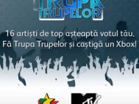 Fa TRUPA TRUPELOR alaturi de ProFM si MTV!