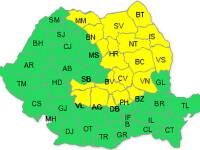 Cod galben: ninge in Moldova si la munte. Pericol de inundatii in vest