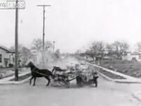 Acesta este cel mai vechi accident surprins de camerele de luat vederi. VIDEO