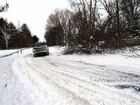 Nu plecati la munte fara cauciucuri de iarna pe masina. Unde va ninge si prognoza meteo pana luni