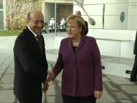 Traian Basescu, la Berlin. Avem nevoie ca de aer de miliarde de euro de la nemti