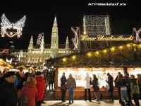 VIDEO. Cel mai cunoscut targ de Craciun din Europa si-a deschis portile, la Viena
