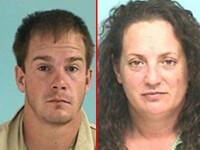 Gestul scandalos facut de acesti doi tineri, intr-o masina de politie, desi aveau catuse la maini