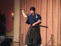 Un VIDEO incredibil. Cel mai bun samurai din lume: taie glontul cu sabia