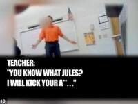 VIDEO. Un elev era umilit zilnic de profesorul lui, insa nimeni nu l-a crezut pana nu a filmat totul