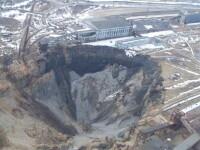 Oras inghitit de aparitia inexplicabila a unor cratere. Ce se intampla cu o regiune din Rusia