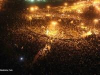 Criza in Egipt. Sute de mii de oameni ies in strada pentru a forta demisia autoritatilor militare