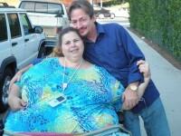 Povestiri de budoar cu cea mai grasa femeie din lume. Ce spune sotul ei despre viata lor intima