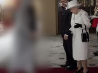 """""""Ce-s astea?"""". Reactia Reginei Marii Britanii cand a vazut-o pe sotia presedintelui Turciei"""