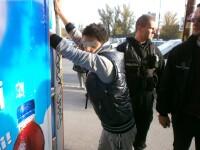 Bataie intre elevi chiar in fata sediului Inspectoratului de Politie Judetean Timis