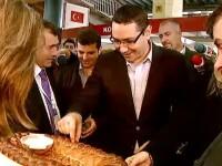 Victor Ponta, interesat de produsele bio. Sotia Daciana Sarbu l-a invatat sa manance sanatos