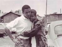 Imaginea de 250.000 de like-uri cu Michelle si Barack Obama, pe vremea in care erau niste anonimi
