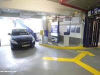 Parcarea subterana de la Universitate a fost deschisa. Cum arata si care sunt tarifele. GALERIE FOTO
