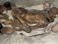 FOTO. Misterul unei mumii de acum 5.500 de ani, dezvaluit in premiera de specialisti