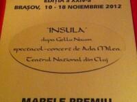 Spectacolul Insula a obtinut marele premiu al Festivalului de Dramaturgie Contemporana de la Brasov