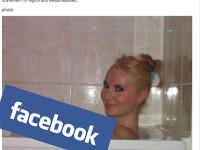 Reactia Facebook, dupa ce a sters aceasta fotografie cu o tanara care facea baie