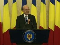 Traian Basescu: Revizuirea actuala a Constitutiei reprezinta un risc de blocare a statului