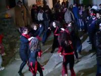 1000 de turisti au sarbatorit Halloween-ul in casa contelui Dracula, la castelul Bran