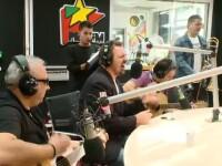 Spectacol in studioul Pro FM. Ce melodie le-a dedicat Horia Brenciu lui Gicu si Nicolai
