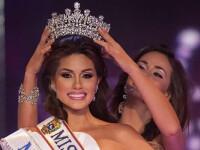Noua Miss Universe a purtat la prima ei aparitie oficiala un costum de baie de 1 milion de dolari