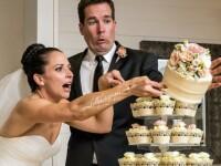 Momentul care le-a distrus nunta. Ce a patit mireasa in timp ce taia tortul