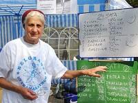 Super bunica Serbiei. Femeia de 77 de ani care alearga maratoane de 100 de kilometri de placere