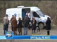 Cabinetul medical mobil, ideea unor oameni cu suflet pentru a-i ajuta pe oamenii din zonele izolate