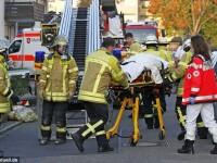 Pompierii din Germania au fost nevoiti sa poarte masti de gaze pentru a salva un barbat obez. Care este motivul