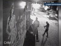 Autorii spargerilor de la cele trei case de pariuri din Targoviste au fost prinsi. FILMAREA ultimei lovituri date de hoti