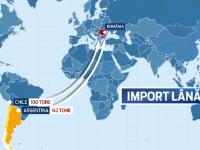 Romania, din mare producator, mare importator. HARTA tarilor de unde cumparam anual sute de tone de lana