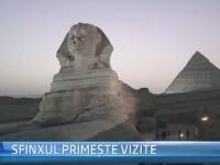 STIRI EXTERNE PE SCURT. Lucrarile de restaurare e Sfinxului, finalizate; Rusia