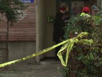 Explozie grava intr-un bloc din Bacau. Un batran de 87 de ani a ajuns in stare grava la spital