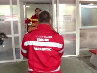 Cinci muncitori au ajuns la spital, intoxicati cu o substanta necunoscuta. Toti au ramas sub supravegherea medicilor