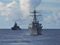 Patru nave rusesti se indreapta spre coastele unei tari aliata cu SUA. Vladimir Putin va ajunge la fata locului