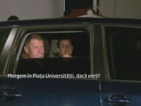 Imagini din culise. Reactia lui Iohannis, dupa ce primeste vestea ca a castigat alegerile: \