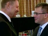 Klaus Iohannis se intalneste cu liderii judeteni ai PNL pentru a sarbatori victoria