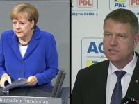 Mesajul Angelei Merkel pentru Klaus Iohannis, dupa castigarea alegerilor: \