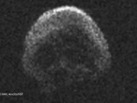 Un corp ceresc in forma de craniu a aparut pe cer in noaptea de Halloween. Explicatia data de NASA